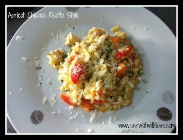 Apricot Chicken Risotto Thermomix Recipe