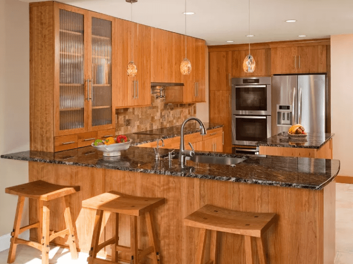 Rustic Kitchen Cabinets Inspirational Quotes