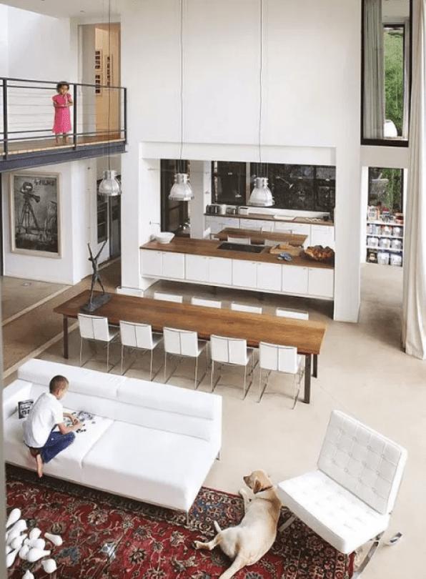 Open Kitchen Design Modern Family