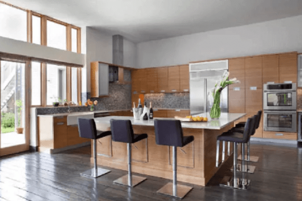 L Shaped Galley Kitchen Design