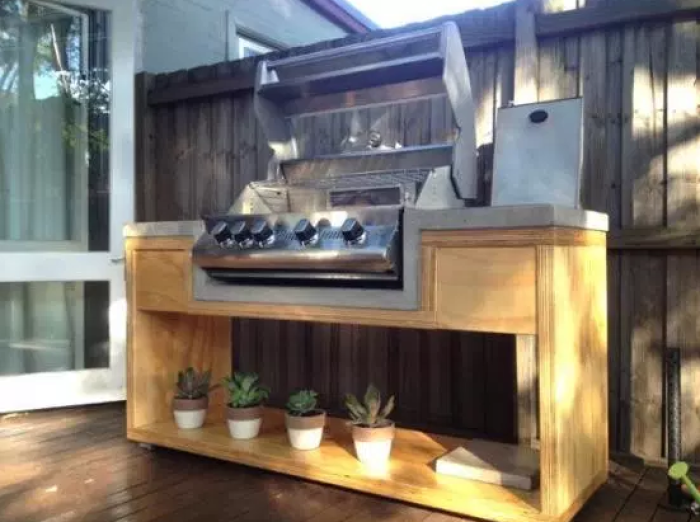 Outdoor Kitchen Design Ideas by homeimprovementpages.com