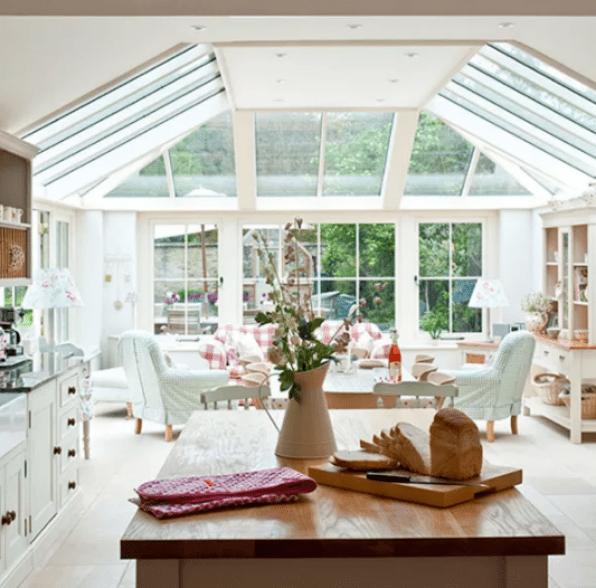 Open Concept Kitchen Family Room Design Ideas