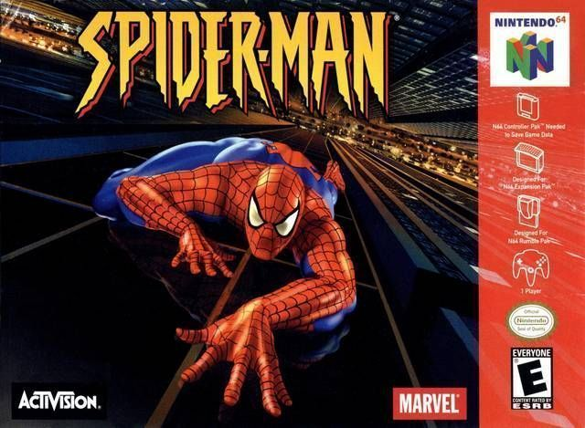 Spider Man ROM   Nintendo 64  N64    Emulator Games Spider Man