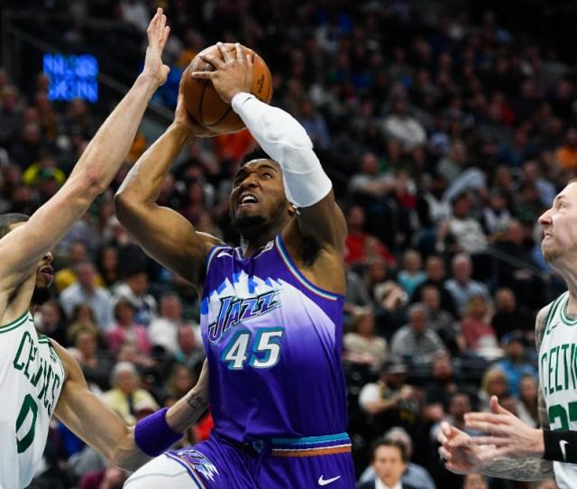 Jazz Vs Celtics Odds Picks Back Donovan Mitchell Co As Road