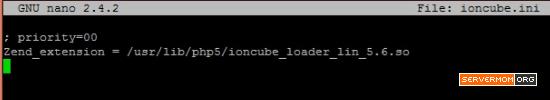 ioncube loader ini file fix