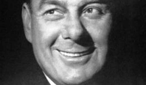 arthur godfrey black and white ad cbs radio listen to him smile