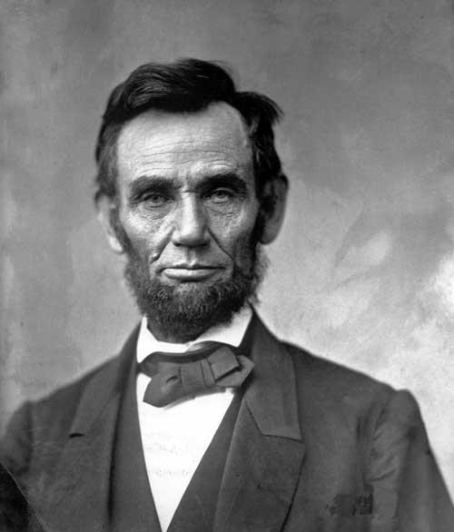 Abraham Lincoln 1863 portrait Alexander Gardner www.servetolead.org