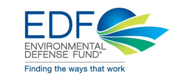 Environmental Defense Fund EDF logo at www.servetolead.org