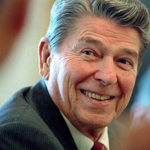 reagan smiling at www.servetolead.org