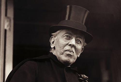 Woodrow Wilson old stroke hat at www.servetolead.org