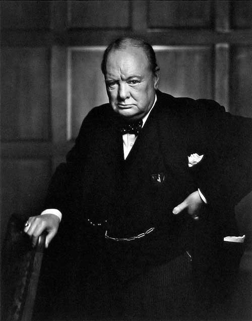 winston churchill by karsh at www.servetolead.org