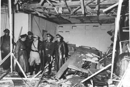 Goering Wolfs Lair July 20, 1944, bombed at www.servetolead.org