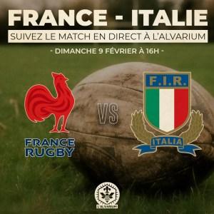 France vs Italie