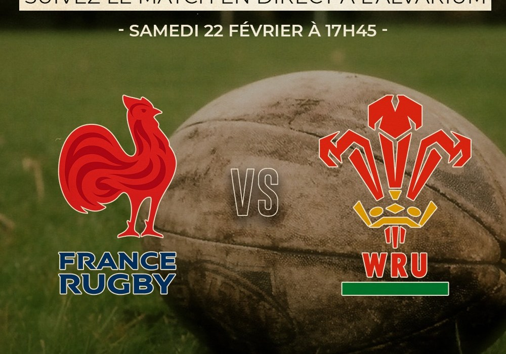 RUGBY | FRANCE – PAYS DE GALLES