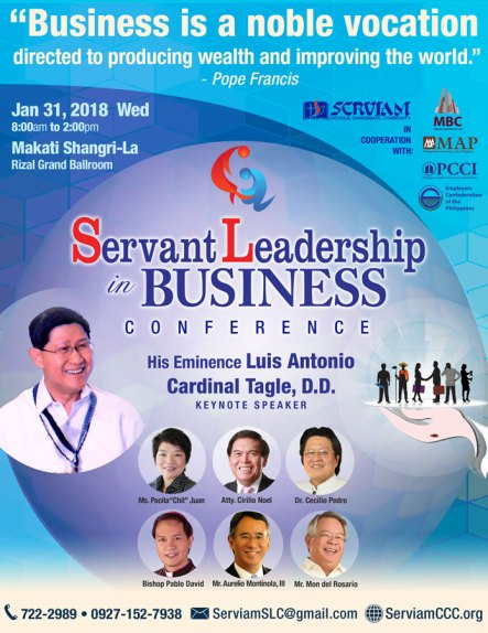 Servant Leadership in Business Conference 2018