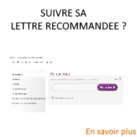 suivie d'une lettre recommandée