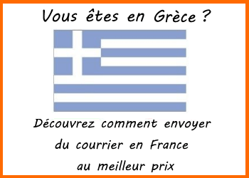 envoi de courrier grece france
