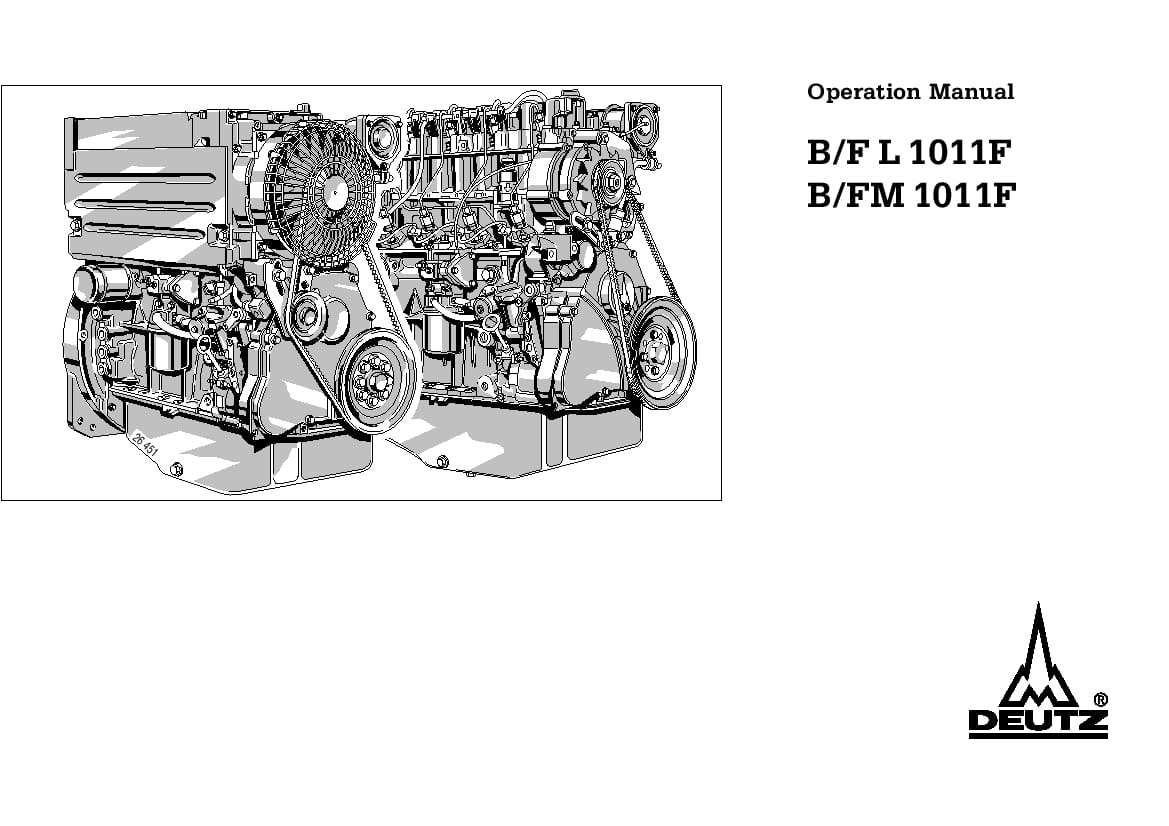 Deutz Engine Manual