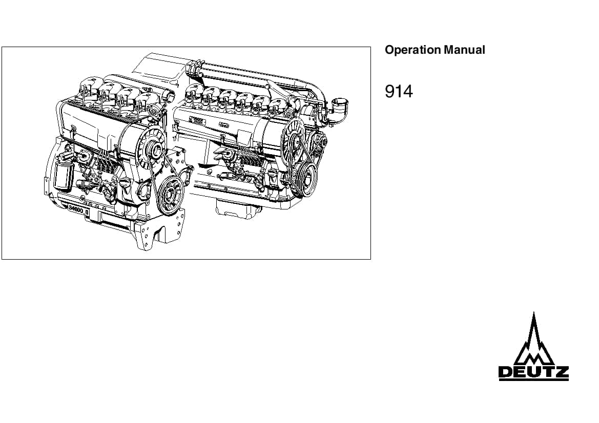 Deutz Engine Manual