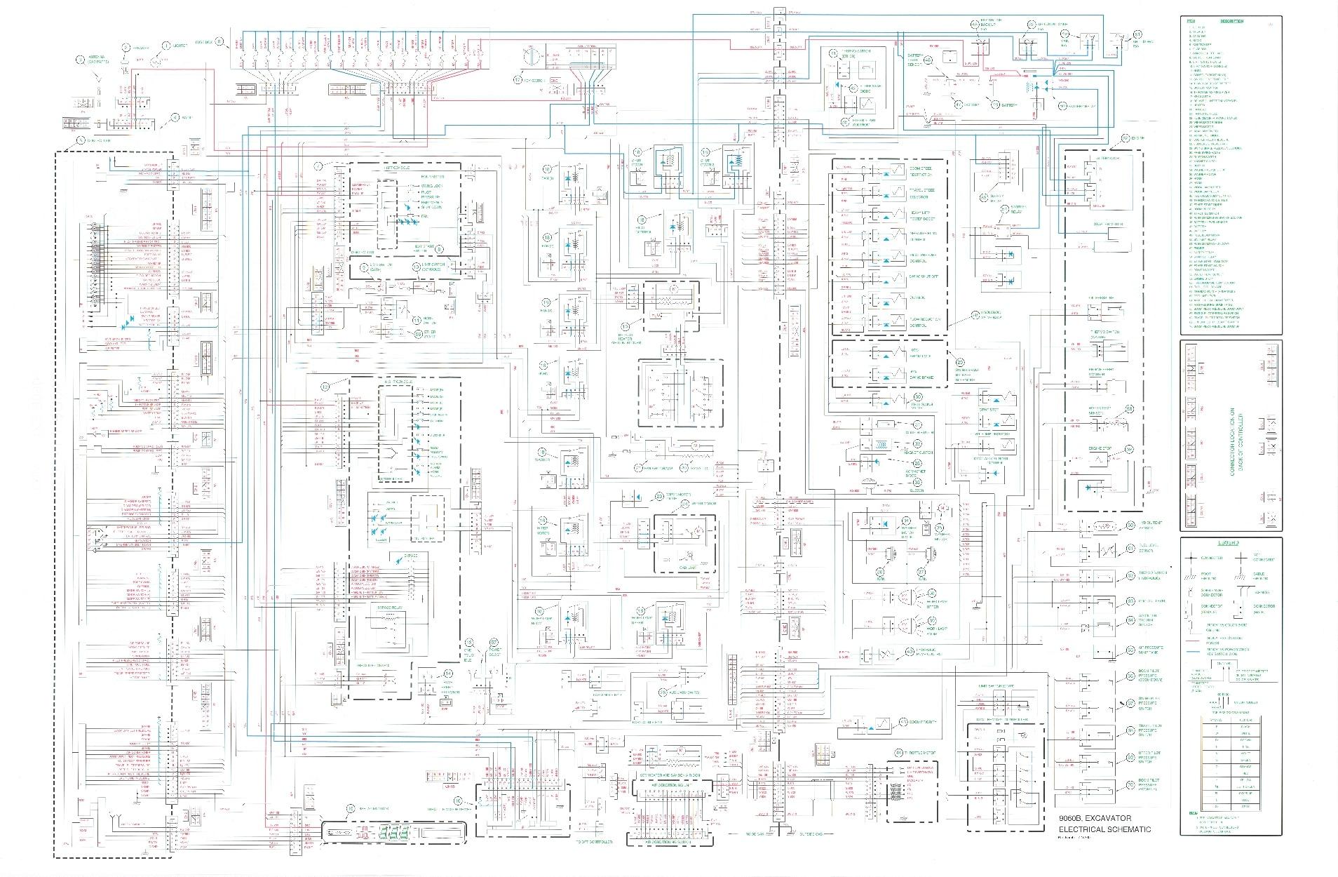 Case B Excavator Hydraulic Electrical Schematic