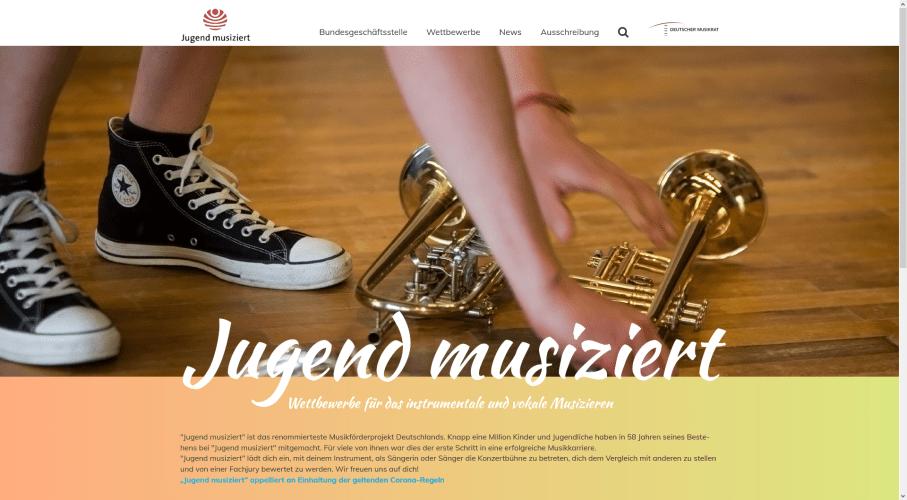 Screenshot Jugend musiziert