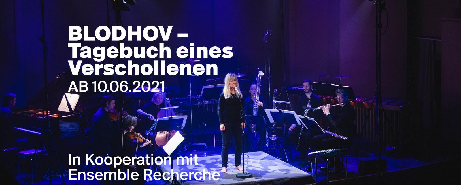 Tagebuch eines Verschollenen / Blodhov (Bluthufe) Ein Doppel-Kammer-Konzert des Theater Freiburg mit dem Ensemble Recherche