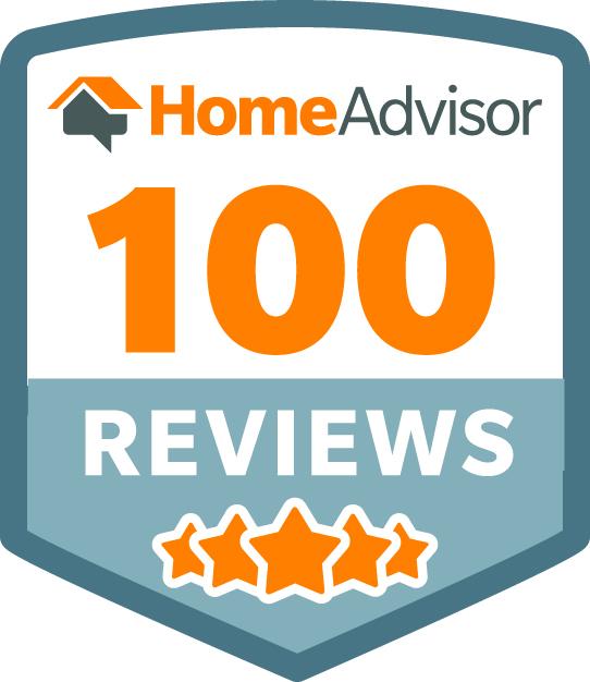 HomeAdvisor 100 Reviews
