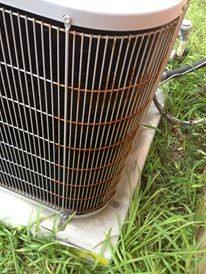 Corroded Condensing Unit