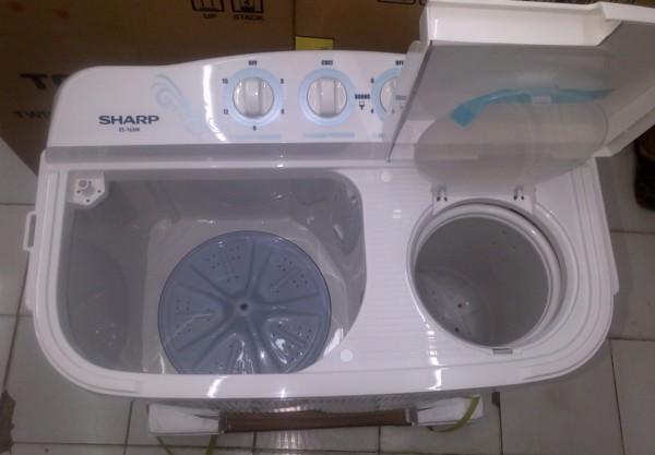 gambar mesin cuci 2 tabung