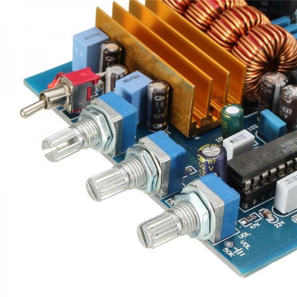Potensiometer pada rangkaian audio