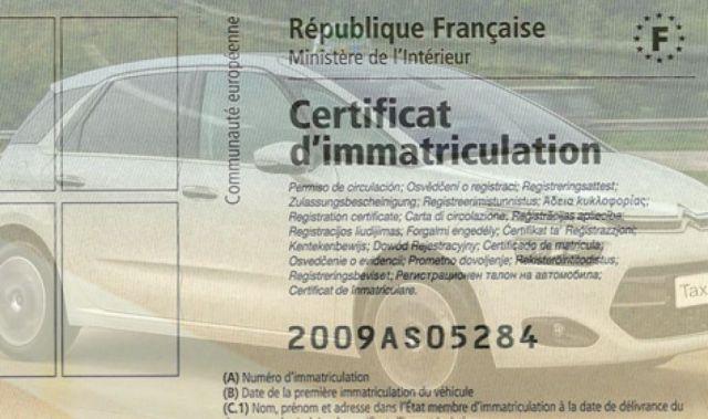 Immatriculer sa voiture provenant d'un pays étranger (Européen)