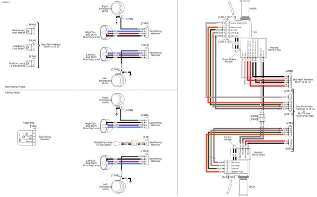 Harley Handlebar Switch Wiring Diagram | hobbiesxstyle on