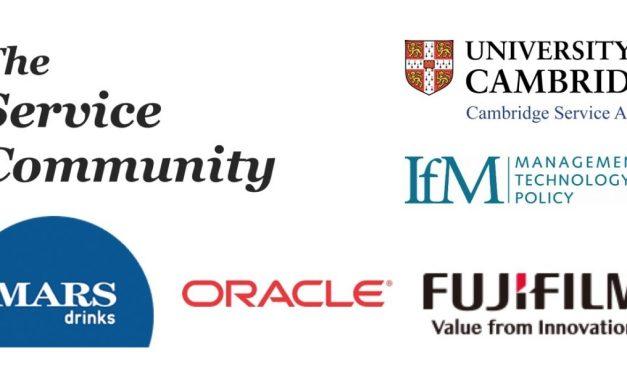 Cambridge Service Alliance hosting next UK Service Community Event – 19th April