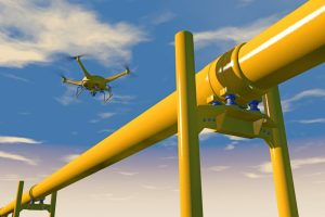 Pipeline inspection by drone