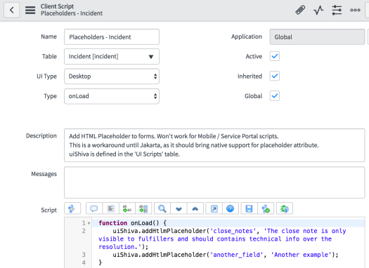 Great UX Trick: HTML Placeholders – ServiceNow Implementation Blog