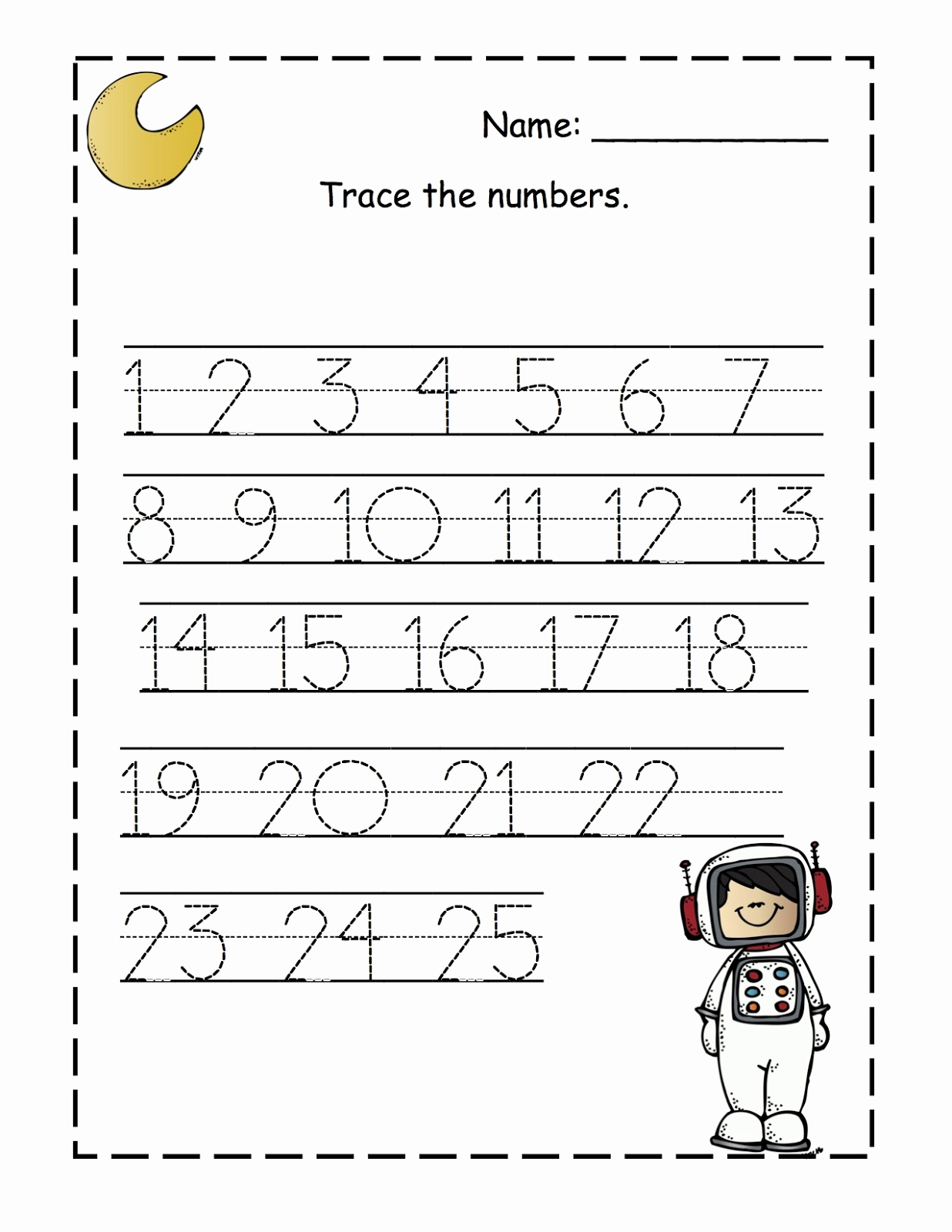 Free Printable Number Worksheets Of April Preschool