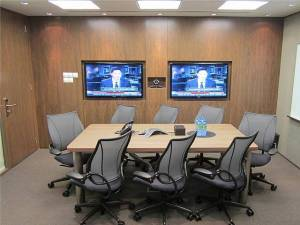 Video Conference room in Singapore Land Tower