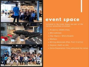 event space coworking space serviced office