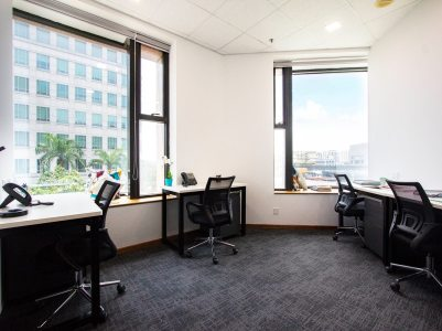 Telepark Serviced Office for Rent window unit