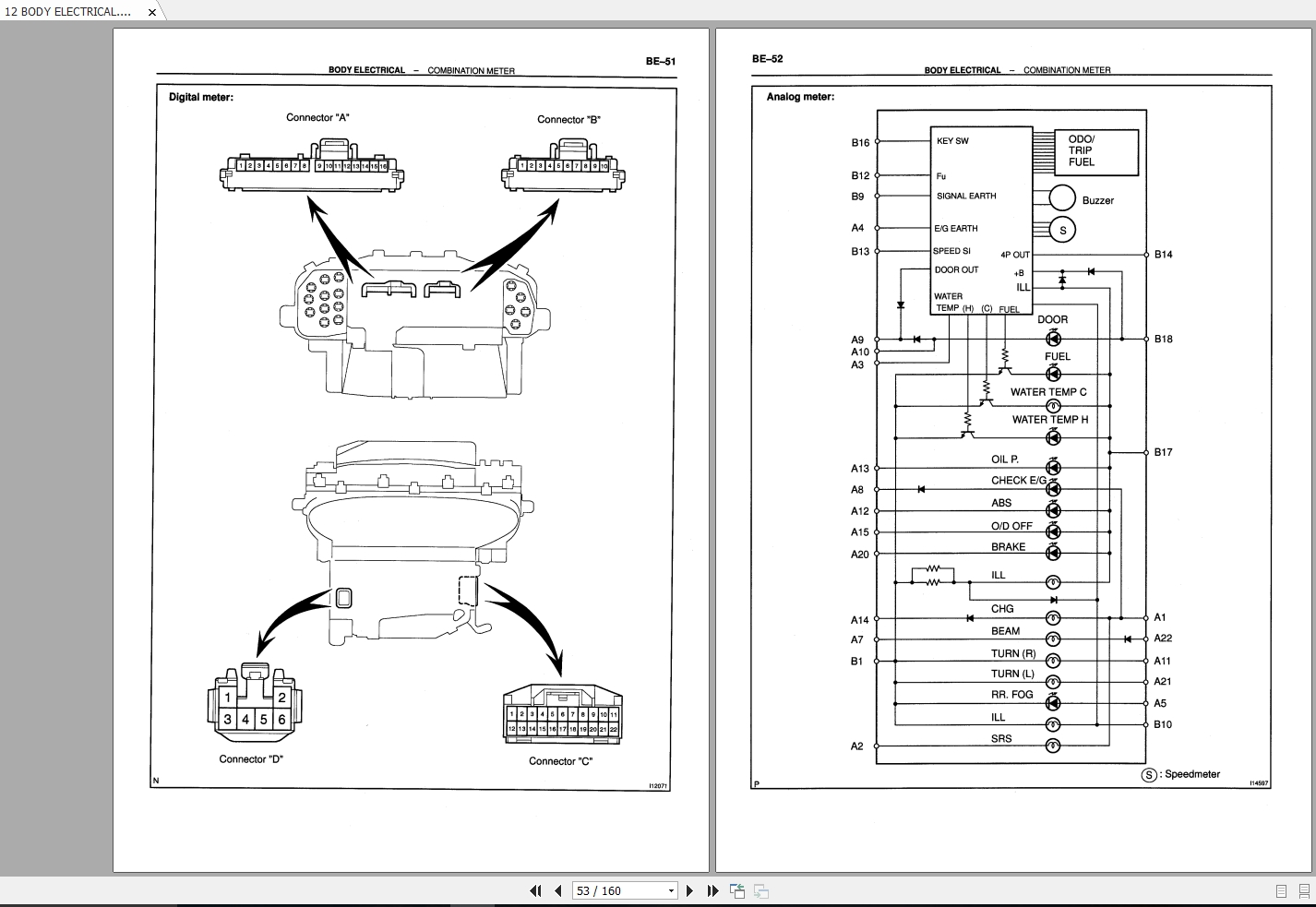 Toyota Yaris Electrical Wiring Diagram