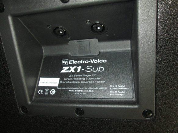 Επισκευή Electrovoice ZX1 SUB