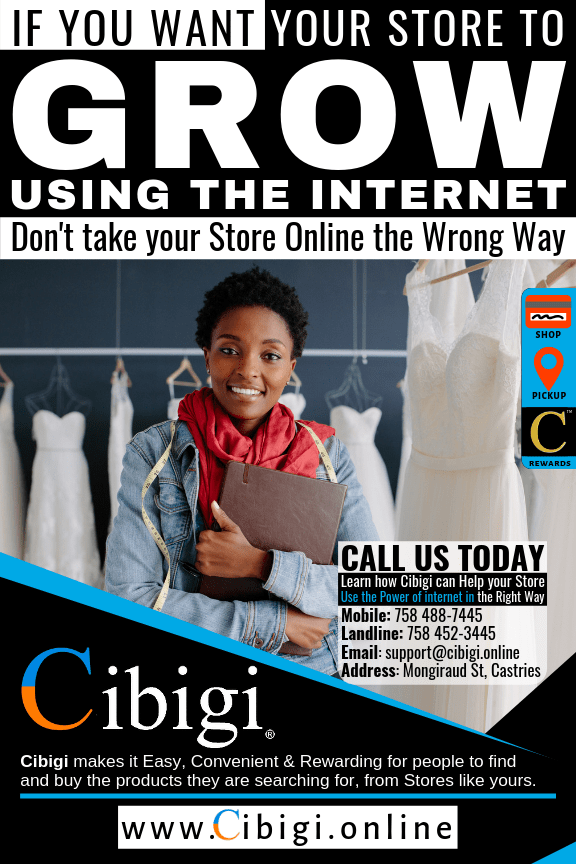 Grow your store using Cibigi® selling and showcasing technologies™