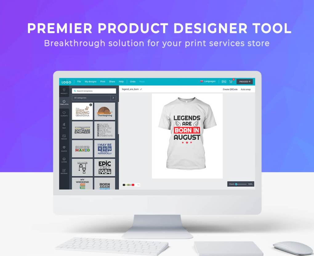 Lumise Product Designer | WooCommerce WordPress 6