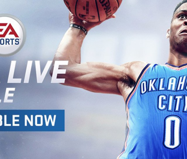 Ea Sports Launches Nba Live Mobile Download The App And Play On Shield Tablet K1