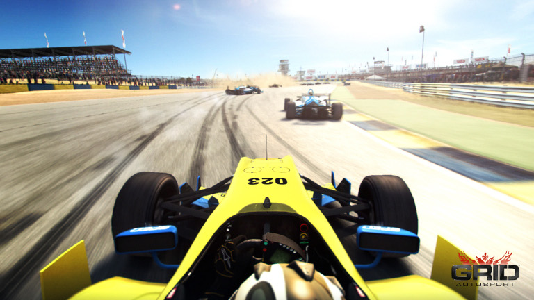 Play Grid Autosport on SHIELD with GeForce NOW