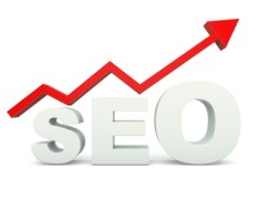 SEO sign with graph