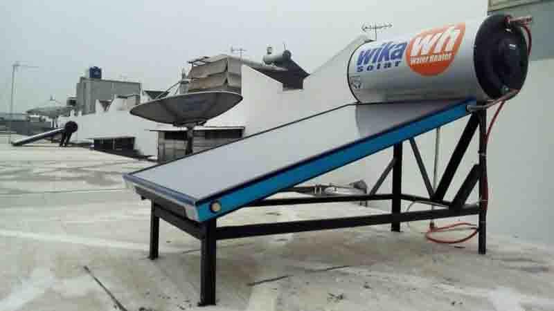 wika solar water heater pondok indah