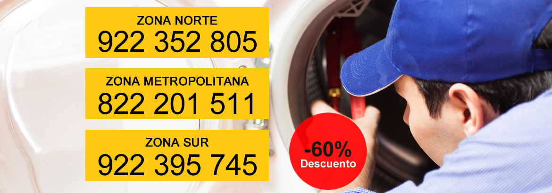 reparación lavadoras Tenerife sur
