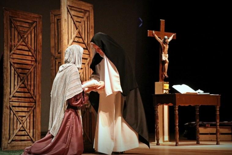 la obra de teatro sobre Santa Catalina de Siena