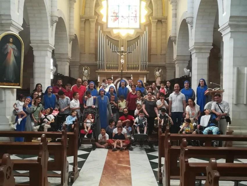 """15 años del Hogar """"Niños Dios"""" en Belén"""